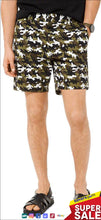 Load image into Gallery viewer, Michael Kors Men's Summer Camo-Print Shorts