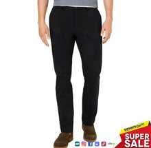 Load image into Gallery viewer, Tasso Elba Men's Luca Flat-Front Stretch Pant