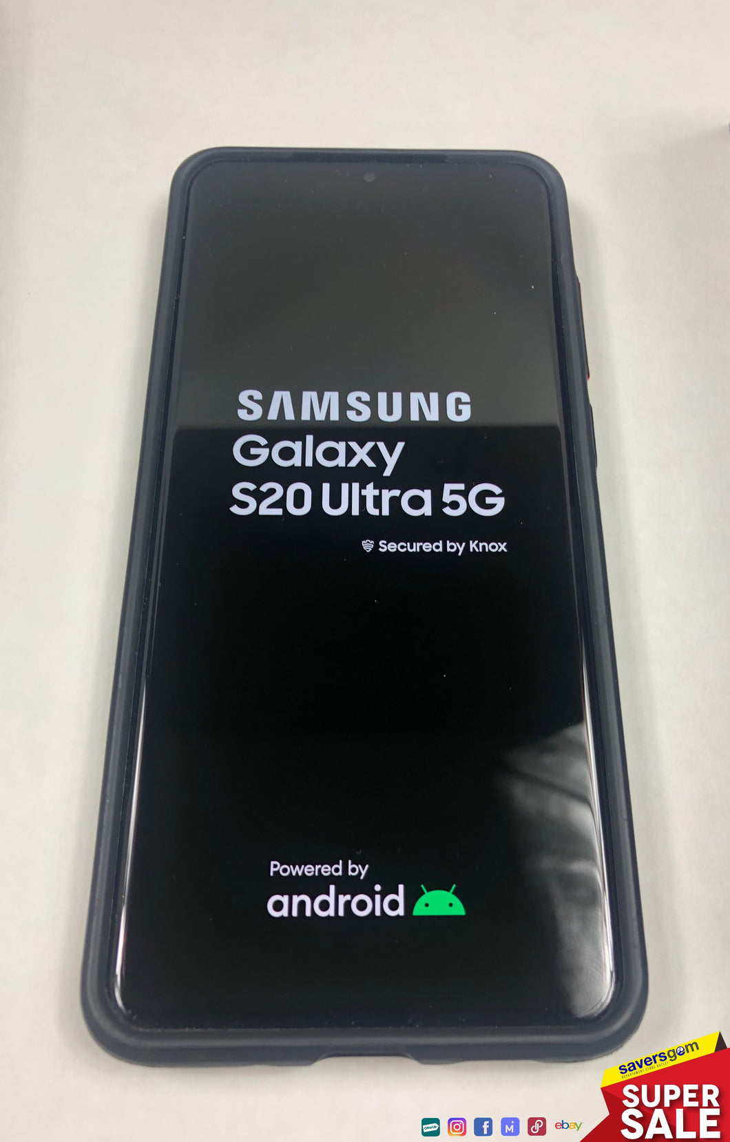 Samsung Galaxy S20 Ultra 5G - 128 GB - T-Mobile Only- Clean EMEI
