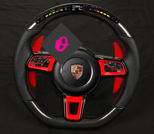 "Lenkradveredelung ""Carbon & LED-Racedisplay"" 