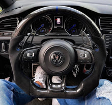 "Laden Sie das Bild in den Galerie-Viewer, Lenkradveredelung ""Carbon & LED-Racedisplay"" 