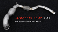Downpipe | A45 AMG W176 2.0T | 2014+ - Carbonec
