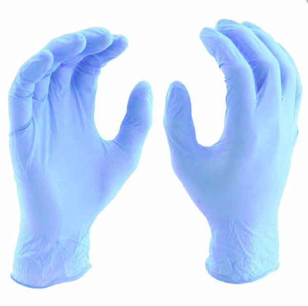 100 GLOVE BOX | DISPOSABLE NITRILE | SIZE LARGE