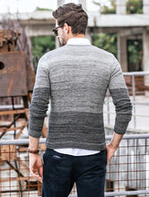 Load image into Gallery viewer, Men Simple Sweater Tops Slim