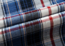 Load image into Gallery viewer, Men Plaid Lapel Shirt