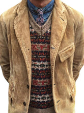 Load image into Gallery viewer, Pure Color Corduroy Men Outerwear