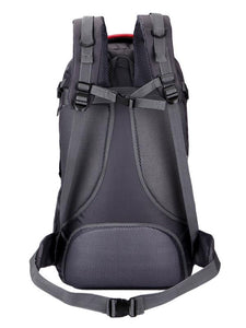 60L Large Capacity Outdoor Travel Contrast Color Backpack