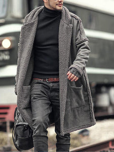 Men Casual Winter Overcoat