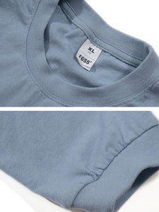 Men Plain Pocket Long Sleeve T-Shirt