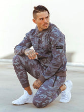 Load image into Gallery viewer, Men Camouflage Tapered Sport Pants