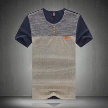Load image into Gallery viewer, Men Color Block Fashion T-Shirt