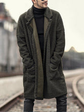 Load image into Gallery viewer, Men Casual Winter Overcoat