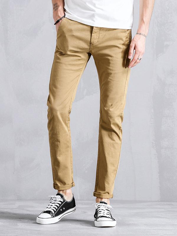 Men Casual Straight Leg Pant
