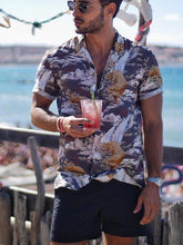 Load image into Gallery viewer, Men Printed Vacation Shirt