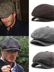Men Casual Simple Fashion Beret Hat