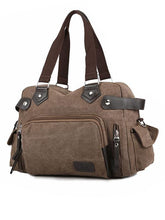 Load image into Gallery viewer, Casual Split-Joint Canvas Outdoor Handbag