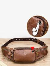 Load image into Gallery viewer, Men Casual Zipper Crossbody Bag