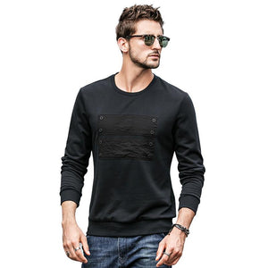 Men Long Sleeves Round Neck Sweatshirt