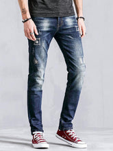 Load image into Gallery viewer, Men Tapered Jeans