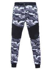 Load image into Gallery viewer, Men Camouflage Splicing Casual Sport Suits