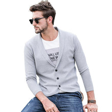 Load image into Gallery viewer, Men Revere Collar Cardigan