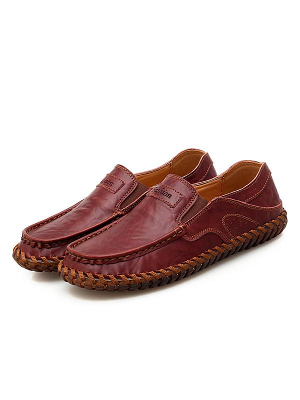 Men Casual Slip-on Flat Shoes Loafers