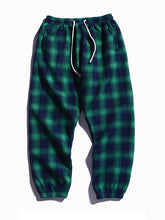 Load image into Gallery viewer, Men's Cotton Plaid Pants