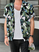 Load image into Gallery viewer, Men Floral Hippie Style Shirt
