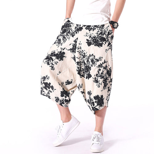 Men  Casual Summer Harem Pants