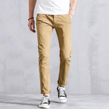 Load image into Gallery viewer, Men Casual Straight Leg Pant