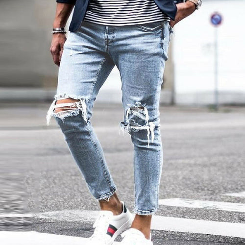 Men Classic Blue Fit Jeans