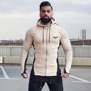 Men Color Block Hoodie Sweatshirt