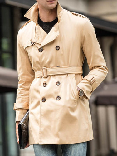 Men Fashion Warm Cardigan Coat