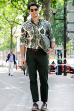 Load image into Gallery viewer, Men Street Style Printed Long Sleeves Shirt