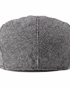 Plaid Casual Cap Beret Hat