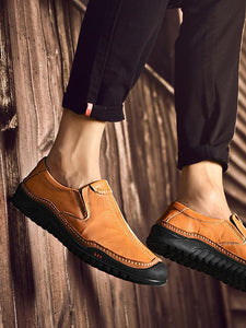 Men Casual Simple Comfortable Loafer Flat Shoes