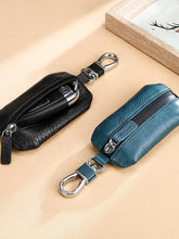 Load image into Gallery viewer, Retro Leather Car Key Holder Key Bag Keychain Wallet