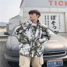 Load image into Gallery viewer, Men Printed Hoodie Cardigan Jacket