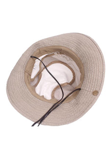 Casual Simple Fashion Outdoor Sunscreen Bucket Hat