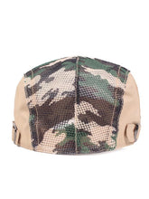 Load image into Gallery viewer, Men Casual Camouflage Adjustable Beret Hat