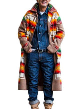 Load image into Gallery viewer, Men Fashion Printing Cardigan Coat