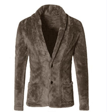 Load image into Gallery viewer, Men V-Neck Blazer Jacket