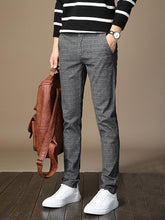 Load image into Gallery viewer, Men Trendy Plus Cashmere Strip Pant