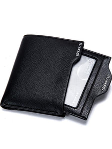 Solid Casual Simple Wallet