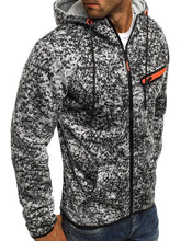 Load image into Gallery viewer, Men Printed Hoodie Spring Cardigan