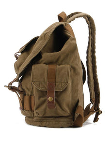 Men Vintage Canvas Outdoor Casual Backpack