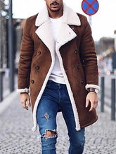 Load image into Gallery viewer, Winter Fashion Lapel Coat
