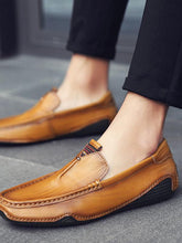 Load image into Gallery viewer, Solid Casual Simple Slip-on Loafers Shoes