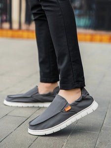 Men Casual Fashion Slip-on Canvas Flat Shoes