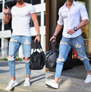 Men Outgoing Slim Jeans